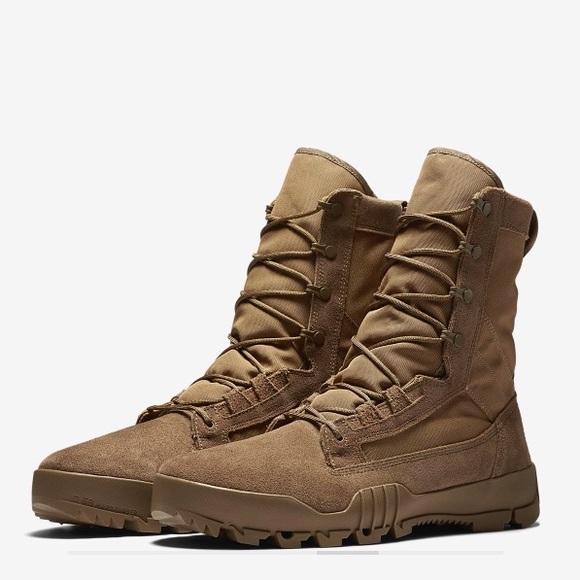 "80511ad728af9 Mens NIKE SFB JUNGLE 8"" Leather boots"